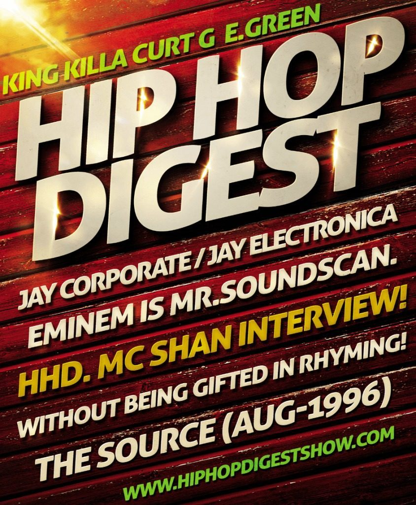 Radio: The @HipHopDigest Show: You Love To Hear The Story... (feat. @MC_Shan) [Podcast]