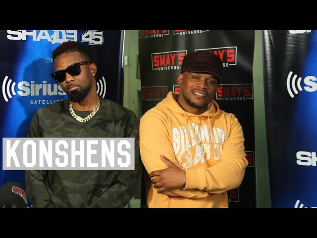 Konshens Checks The Older Generation Complaining About The New Generation Of Music On Sway In The Morning (@Konshens)
