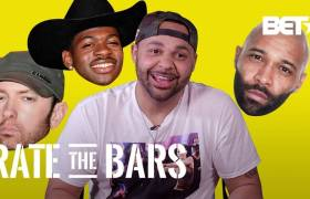 Joell Ortiz On BET's 'Rate The Bars'