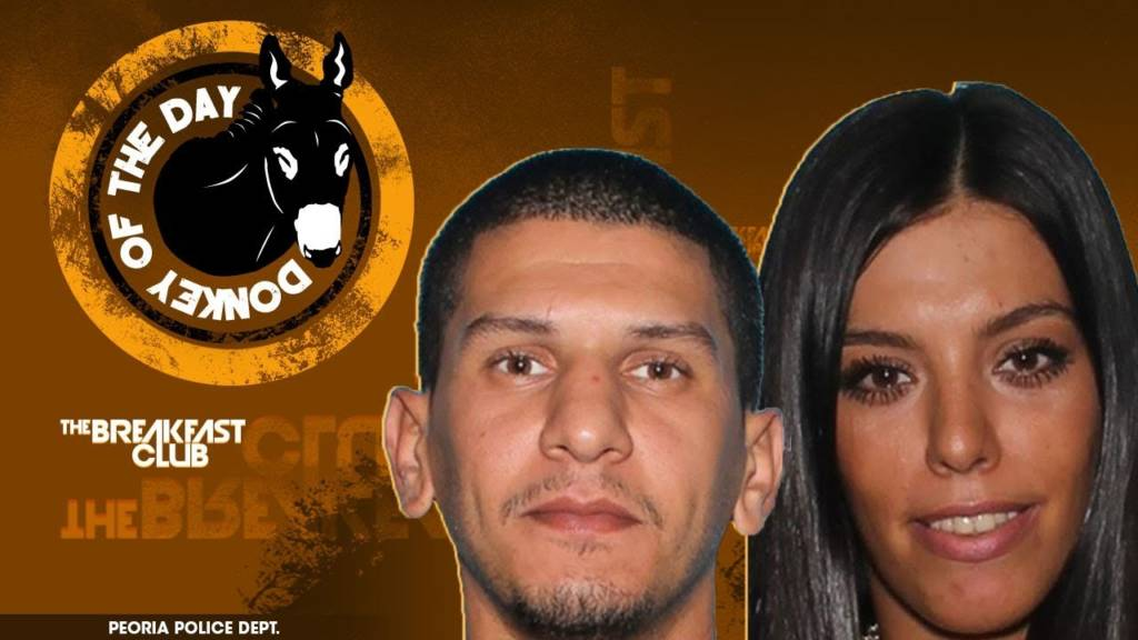 #DonkeyOfTheDay: These Petty Thieves Ran Out & Hid Right Behind The Police Station