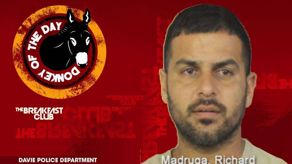 Richard Madruga Awarded Donkey Of The Day For Stabbing His Ex-Girlfriend's Boyfriend w/Screwdriver
