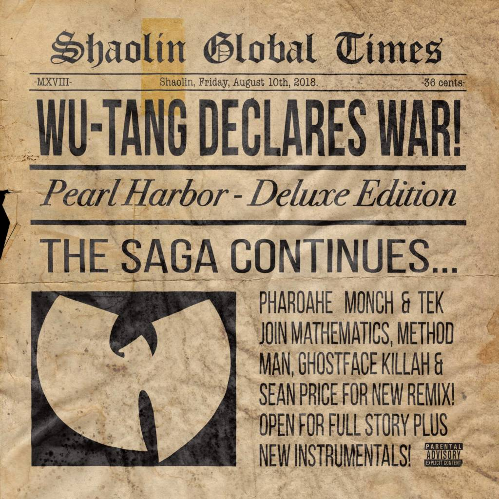 MP3: Wu-Tang Clan - Pearl Harbor (Remix) | @WuTangClan