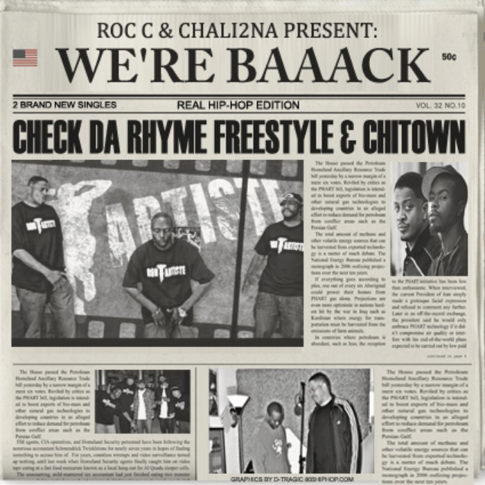 Con Artiste (@RocC805 & @Chali2na) » We're Baaack! [EP]