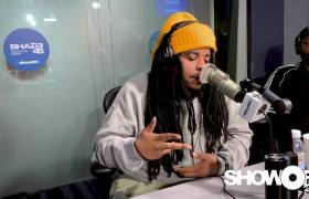 Nolan The Ninja Kicks Freestyle On Shade 45's Showoff Radio