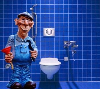 icon of a plumber