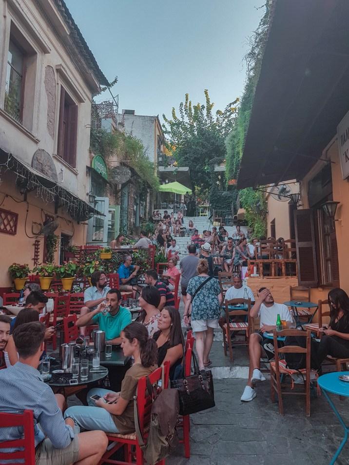 """Anafiotika """"Coffee Street"""""""