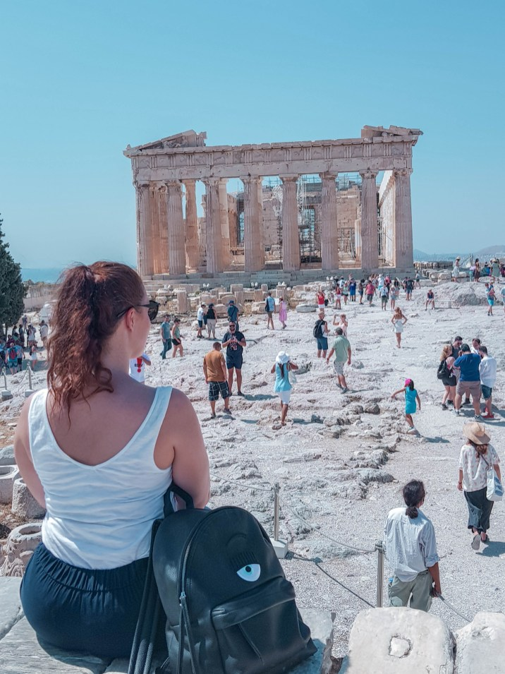 Parthenon auf der Akropolis