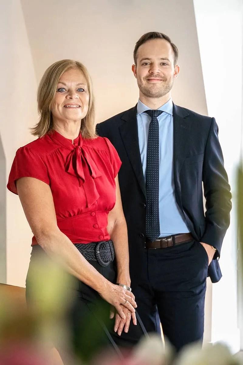 Advocaat Roy Van Niftrik en Juridisch Secretaresse Jeannette Martens, over Van Niftrik Advocatuur Nijmegen, letselschadeadvocaat