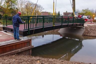 plaatsing brugdek - Beuningen