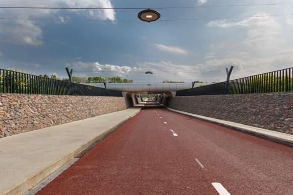 fietstunnel - Ressen