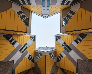 kubuswoningen Blaak - Rotterdam