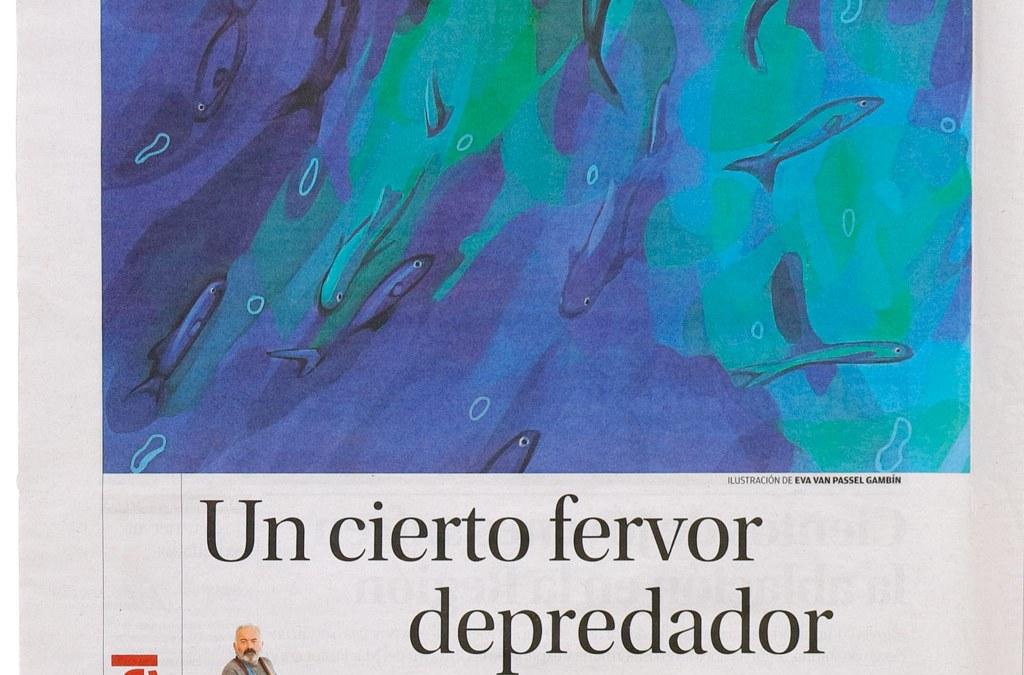 Articulo de Ángel Montiel en el periódico La Opinión de Murcia