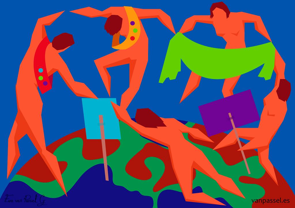 Minorías que cambian el mundo   Danza manifestante