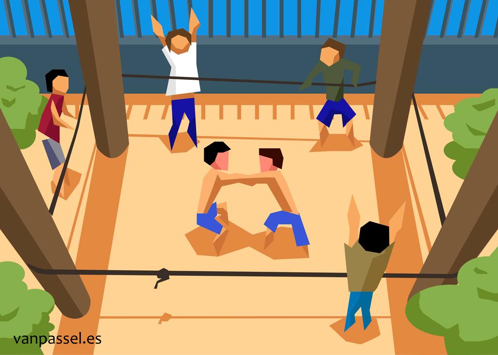 boxeo - para el diario la Opinión de Murcia
