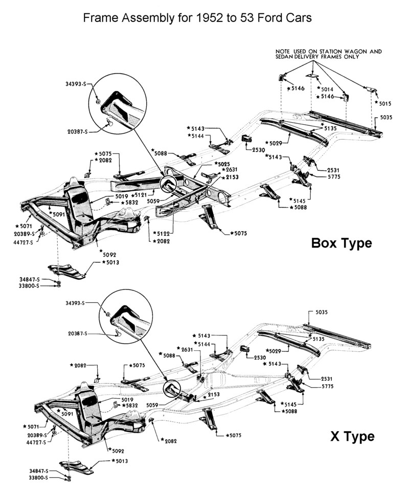 Frame Parts Of A Car