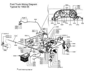 Does this wire run to the starter relay? (photo)  Ford