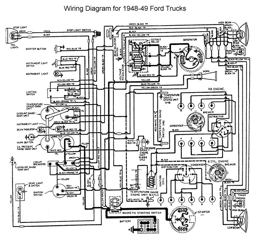 8n wiring diagram 8n image wiring diagram 1948 ford 8n wiring diagram jodebal com on 8n wiring diagram