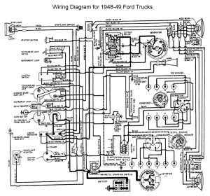 1948 1950 ford truck herter wiring diagram