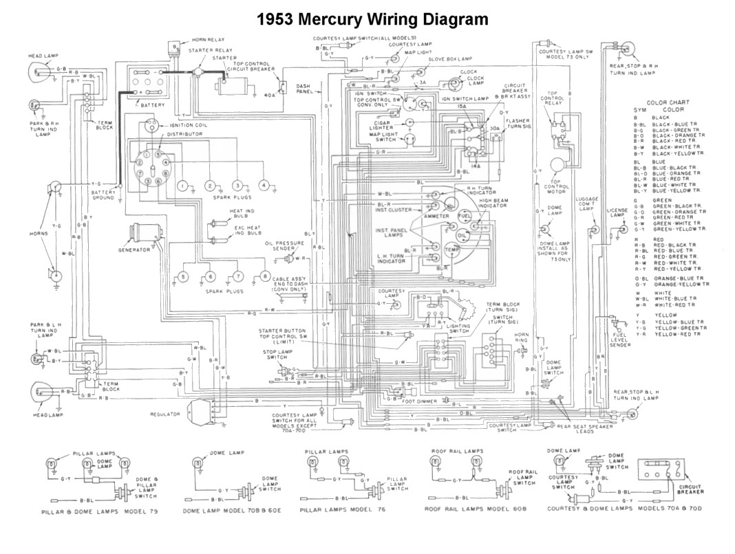 wrg 1835] 1953 ford pickup wiring diagram image 1954 ford wiring diagram catalogue of