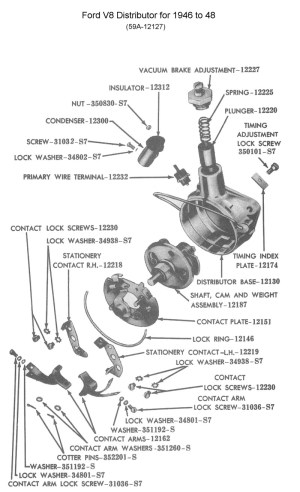 Flathead Parts DrawingsEngines