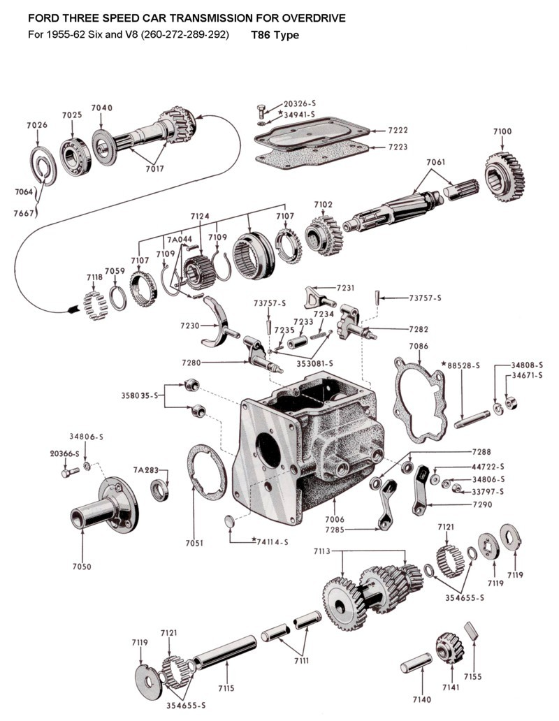 Stock stock looking transmission swap tech article in progress ford truck enthusiasts s