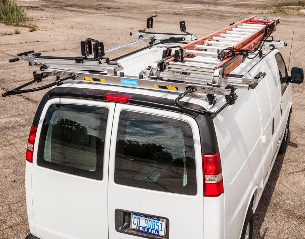 ladder racks commercial upfits van