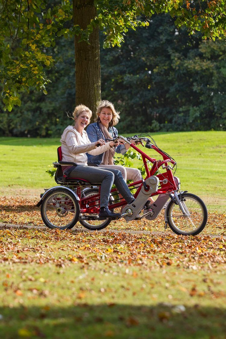 tandem cote a cote velo cycle double