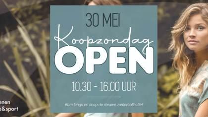 Koopzondag 30 mei Van Rijbroek