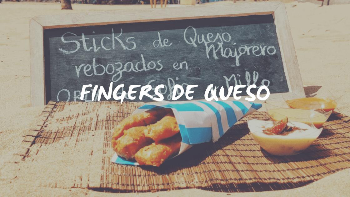 Enlace a Deliciosos fingers de queso crujientes