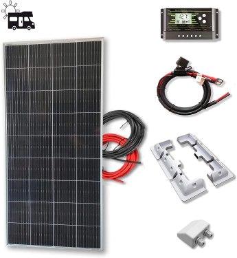placa solar 200W camper