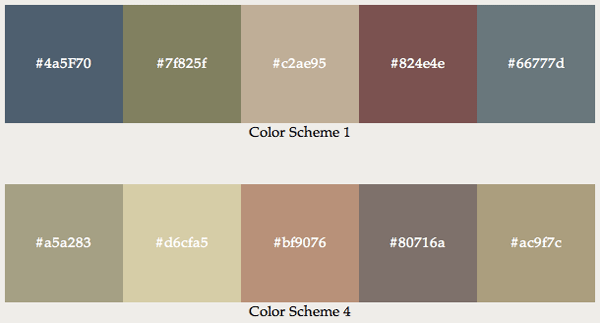 Earth Tone Colors Living Room