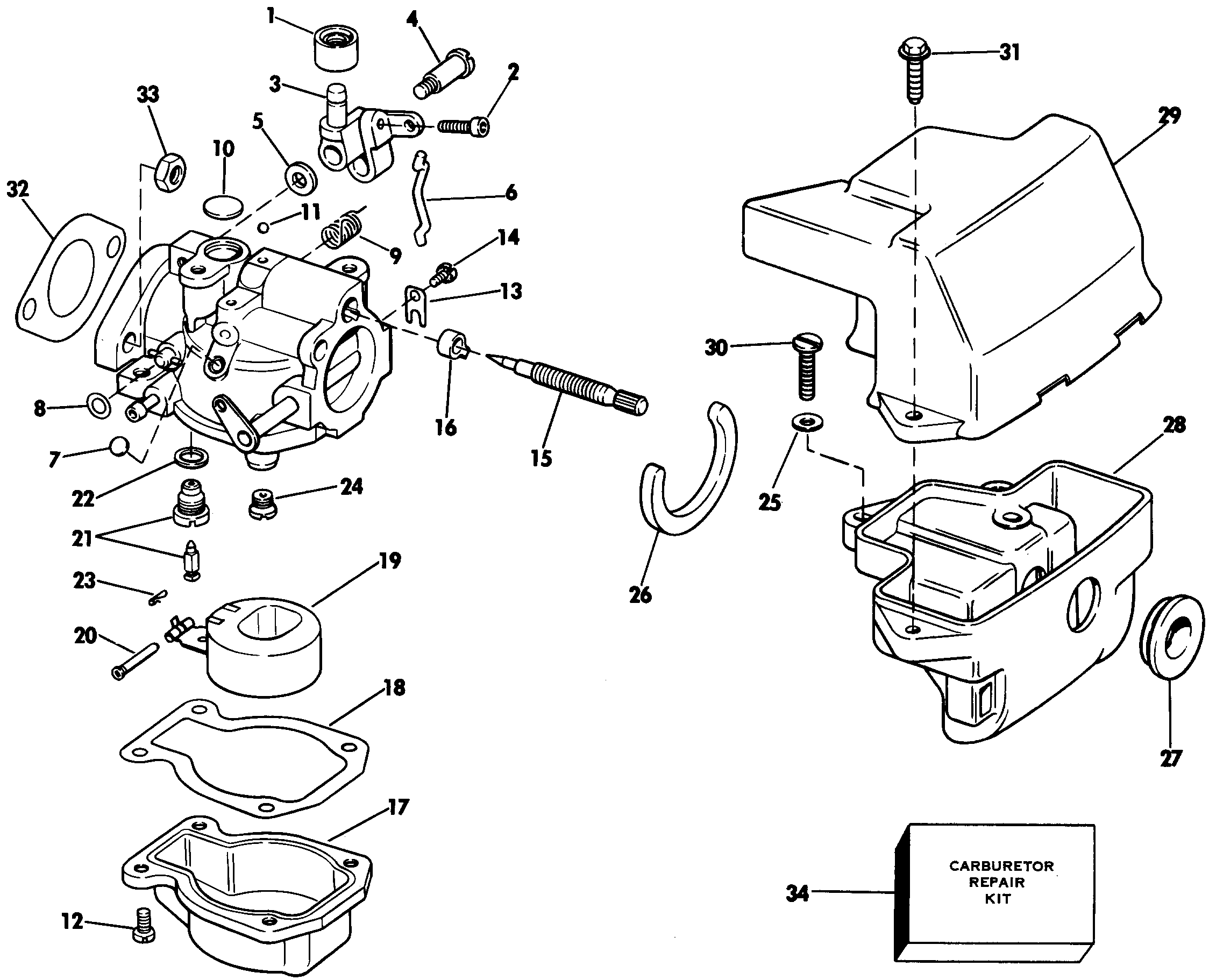 Johnson Outboard Motor Parts