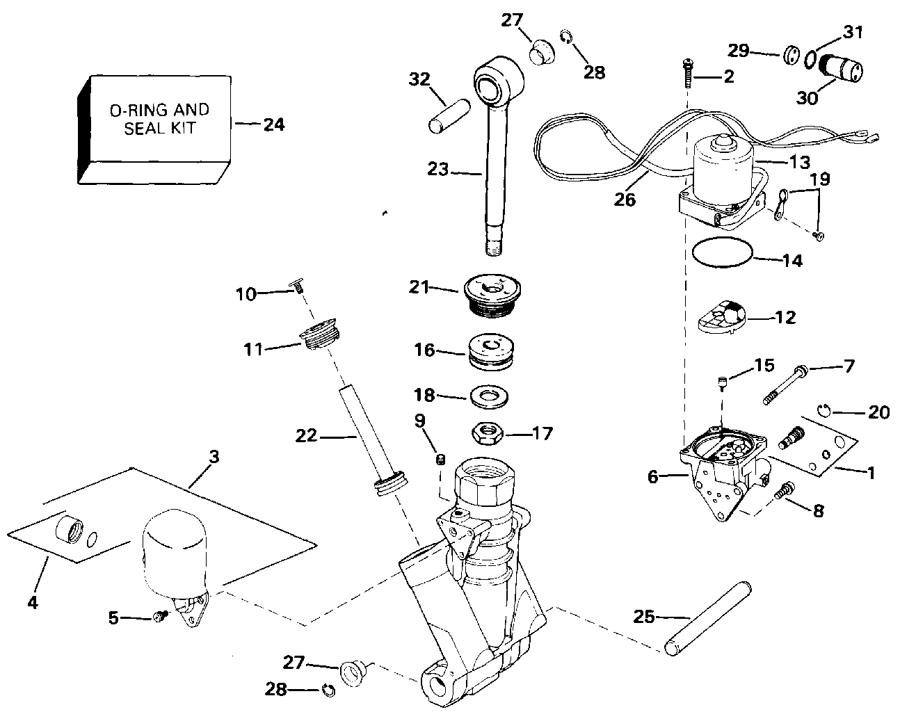 Wiring Database 26 Johnson Tilt And Trim Diagram