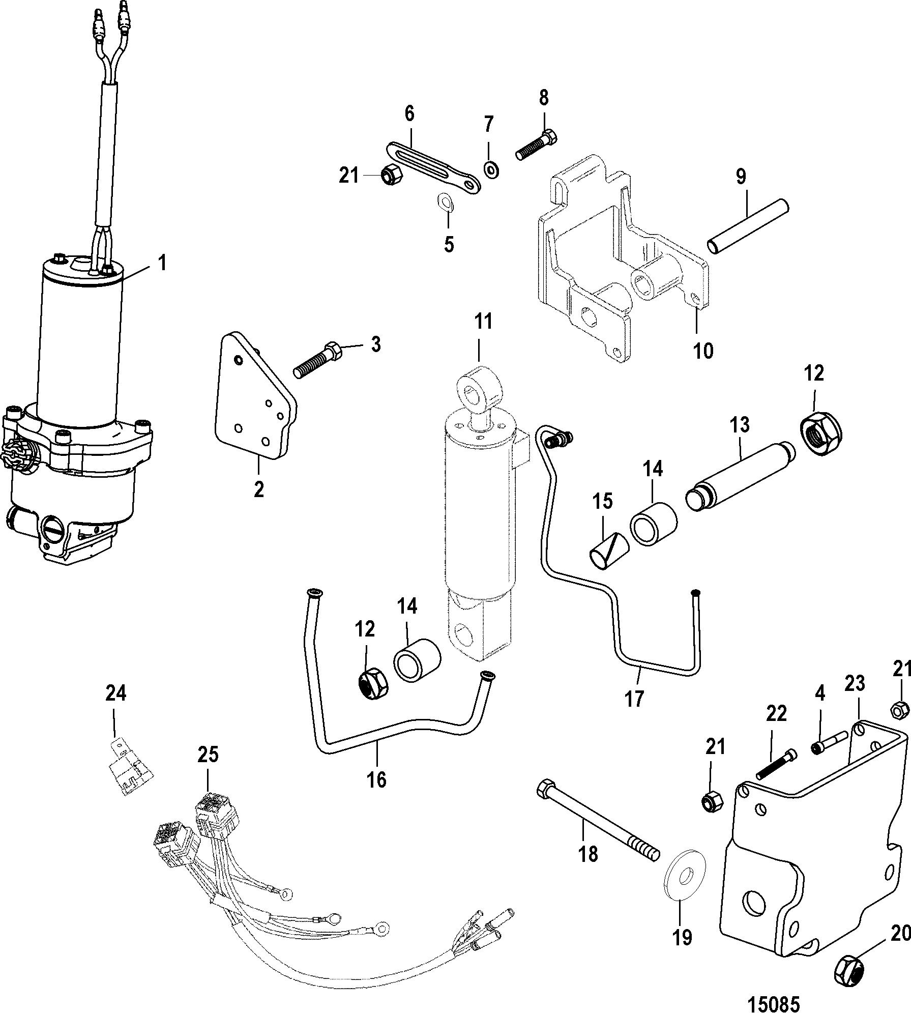 Power Trim Kit A6 A08