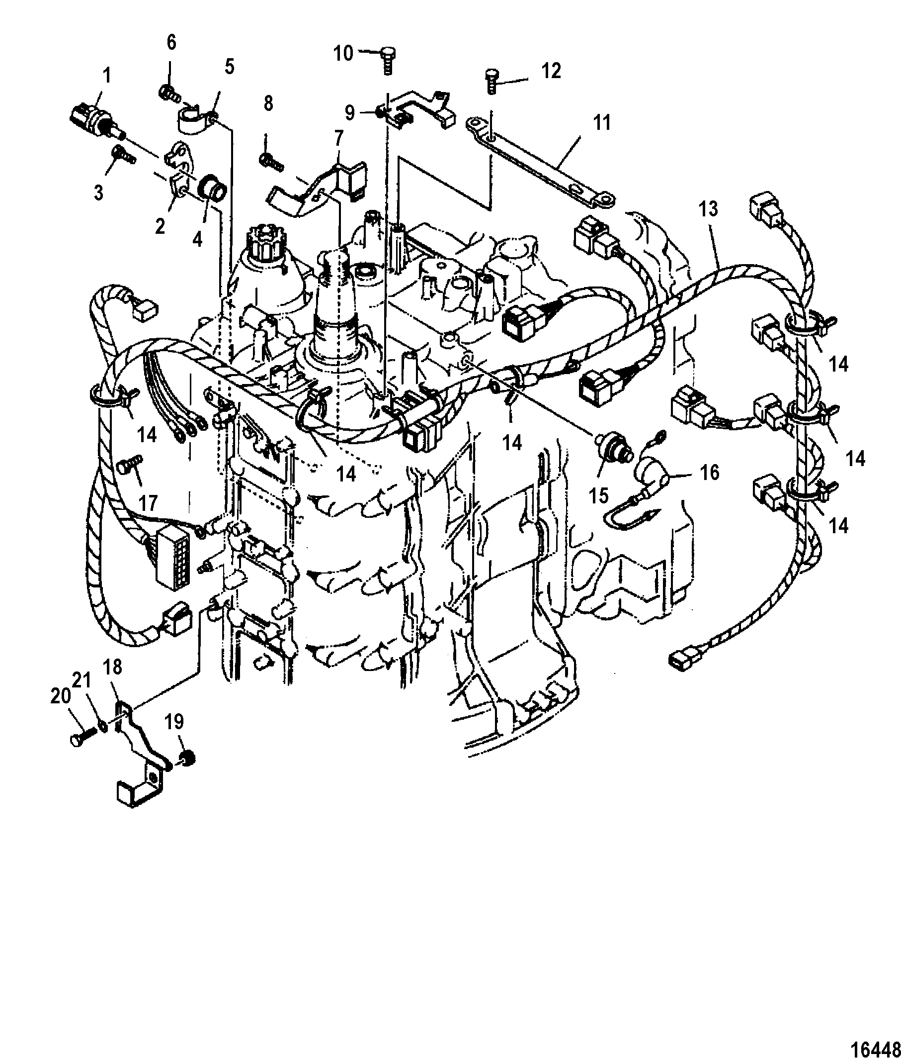 90 Hp Mercury 4 Stroke Efi Electrical Diagram