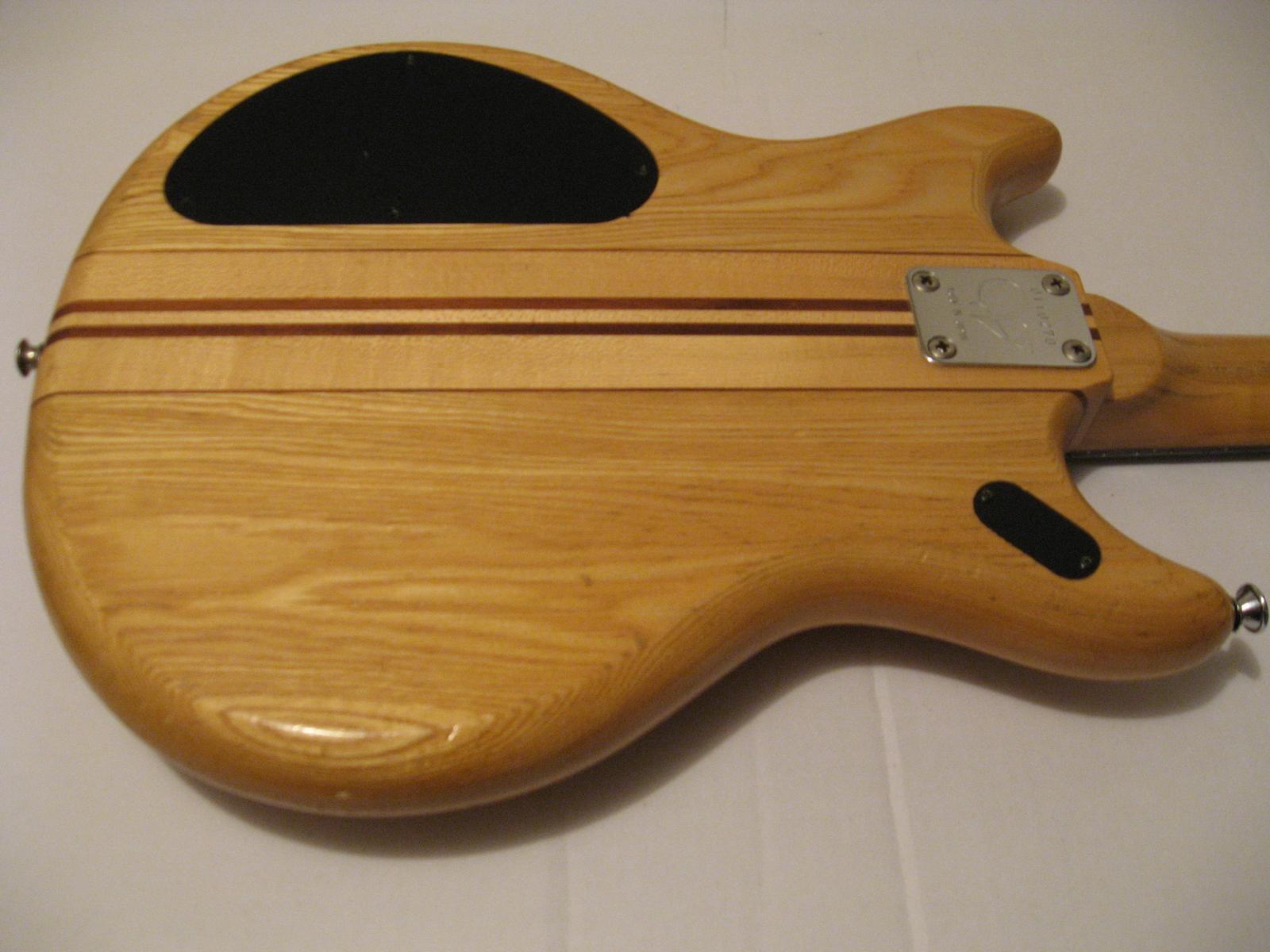 (The guitars may have been modified by it's owners over the years…)