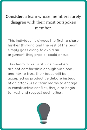 Conflict & Teams example 2