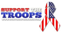 Support the Troops Inc Logo