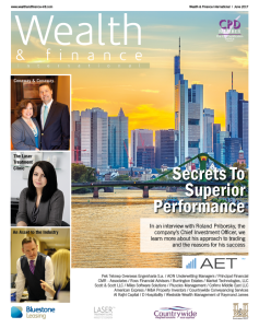 Wealth & Finance June 2017 cover