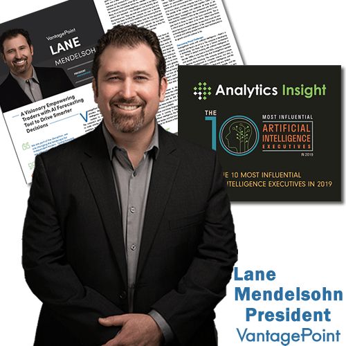 Vantagepoint President Lane Mendelsohn named Top 10 Most Influential AI Execs