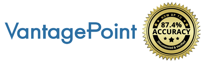Vantagepoint AI software now up to 87.4% accurate