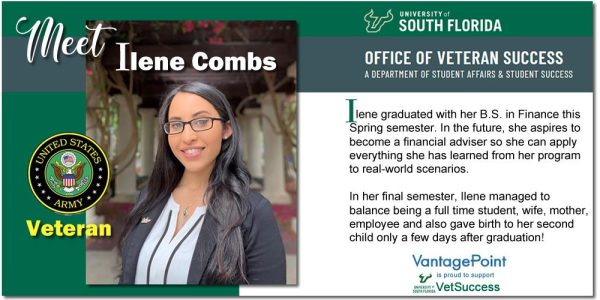 Vantagepoint Donates to USF VetSuccess Program In Honor of Memorial Day