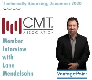 Lane Mendelsohn, President of Vantagepoint AI, Interviewed in CMT Technically Speaking