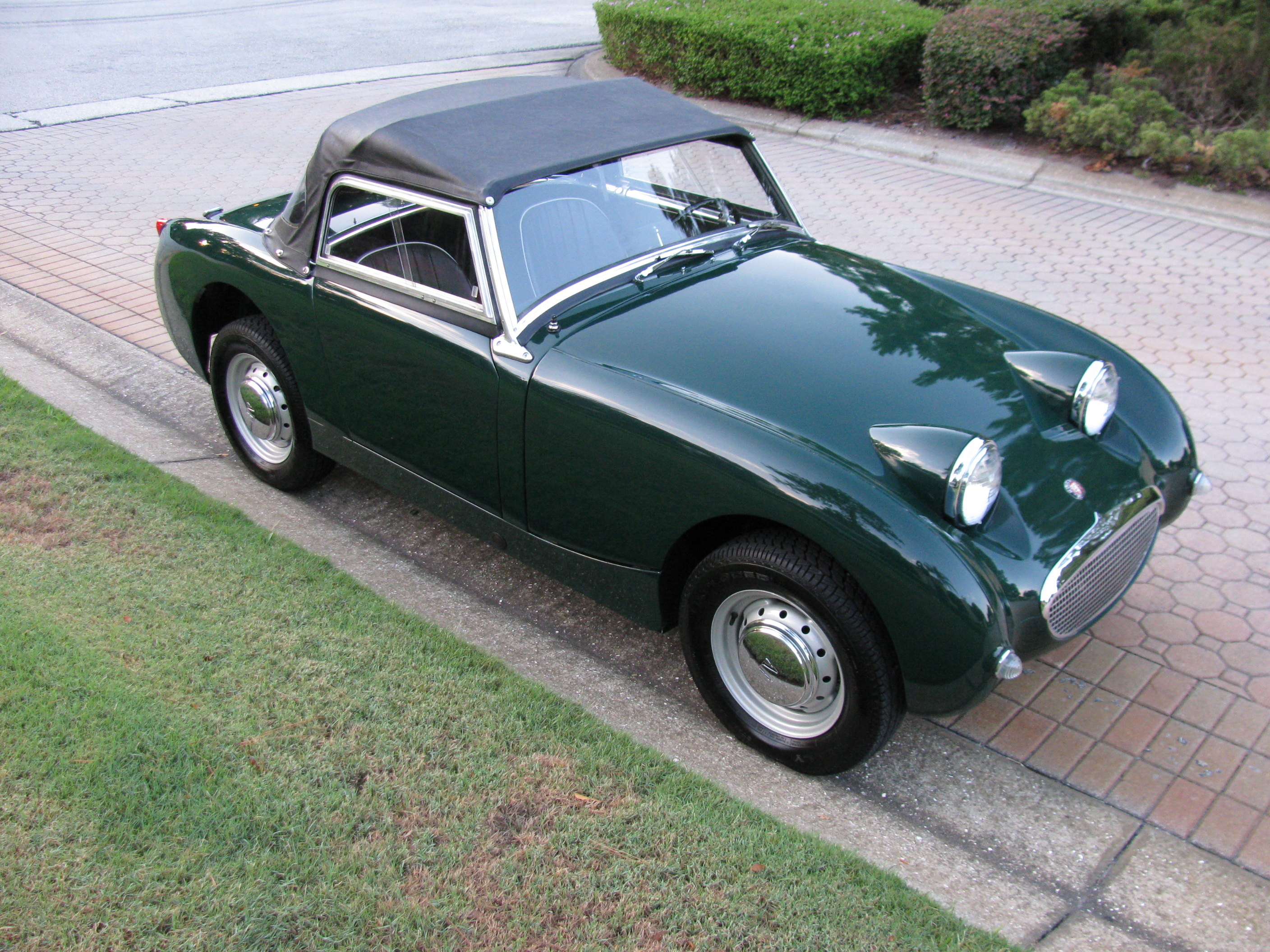 1961 Austin Healey Bugeye Sprite   SOLD    Vantage Sports Cars     1961 Austin Healey Bugeye Sprite     SOLD