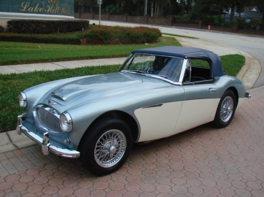 1963 Austin Healey 3000 BJ7   SOLD     Vantage Sports Cars   Vantage     1963 Austin Healey 3000 BJ7     SOLD