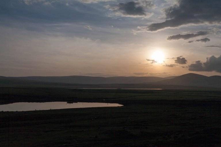 Soumrak nad Arménií