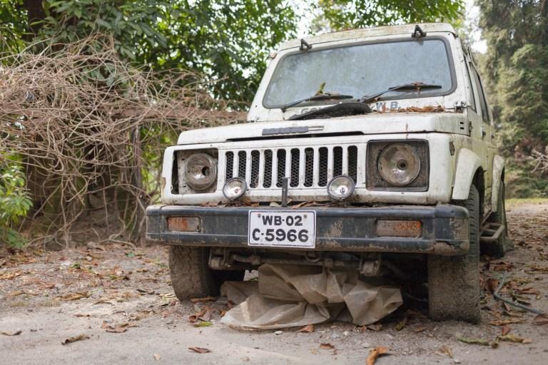 Jeep v Darjeelingu