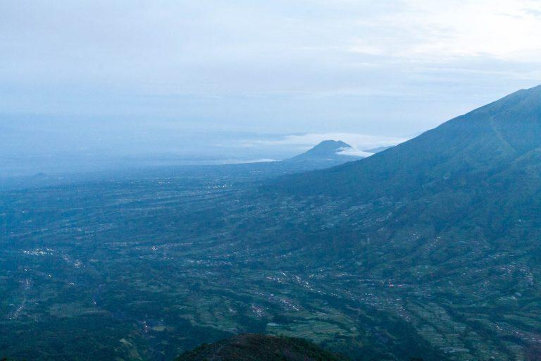 Výhled z Merapi