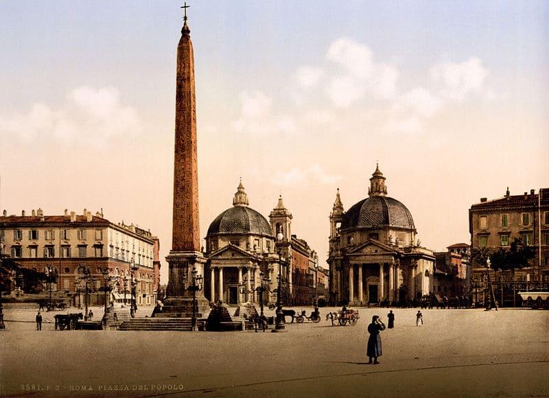 Places De Rome Piazza Del Popolo Piazza Di Spagna