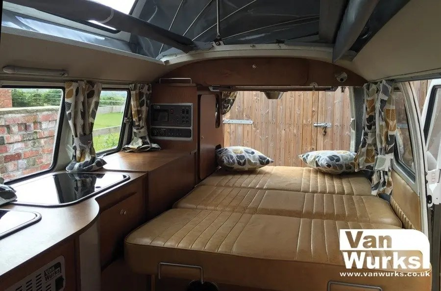 1967 Dormobile Split With Classic Interior In Birch Ply